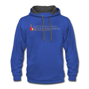 Reeve Foundation Men's Hooded Sweatshirt - Contrast Hoodie