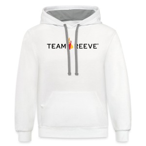 Team Reeve American Apparel Men's Tee  - Contrast Hoodie