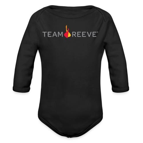 Team Reeve Kid's Long Sleeve Tee - Organic Long Sleeve Baby Bodysuit