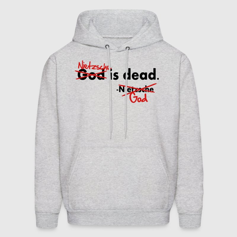 God / Nietzsche is dead. Vector Design Hoodies - Men's Hoodie