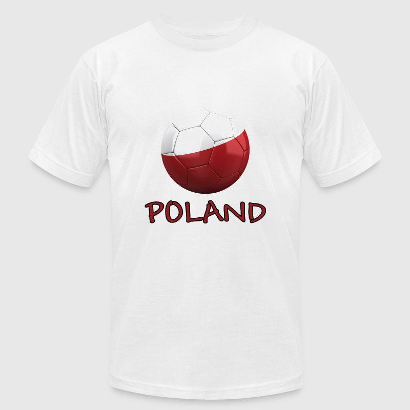 Team Poland FIFA World Cup T-Shirts - Men's T-Shirt by American Apparel