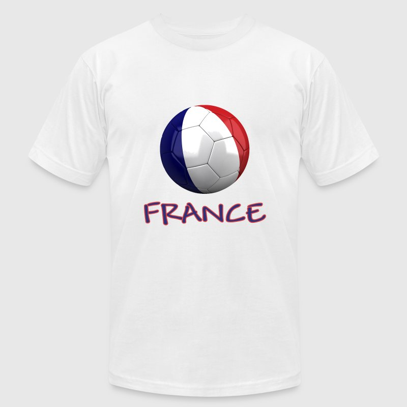 Team France FIFA World Cup T-Shirts - Men's T-Shirt by American Apparel