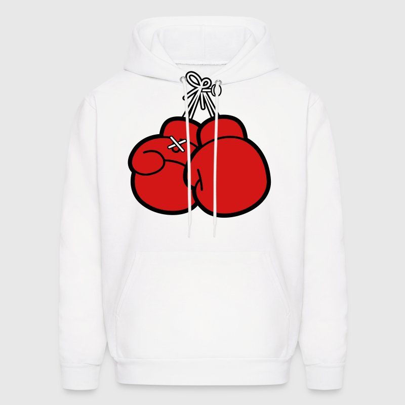 Boxing Gloves (2c)++ Hoodies - Men's Hoodie