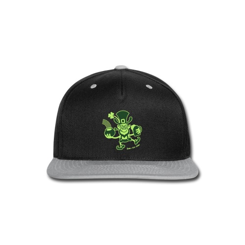 Saint Patrick's Leprechaun - Snap-back Baseball Cap