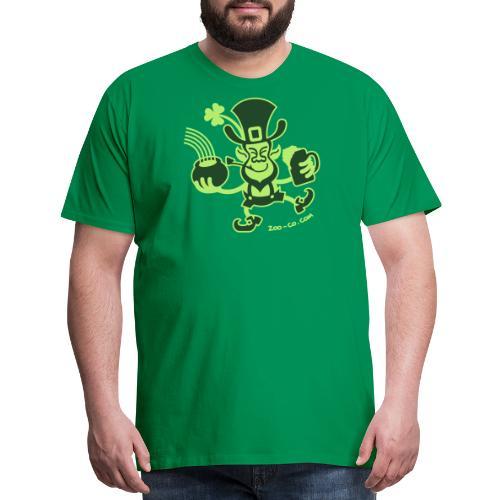 Saint Patrick's Leprechaun - Men's Premium T-Shirt