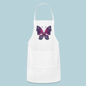 Tribal Butterfly - Adjustable Apron