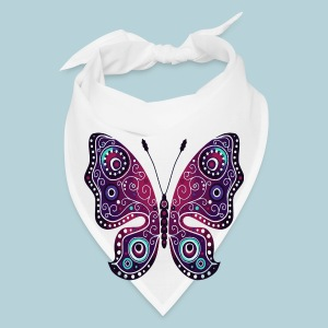 Tribal Butterfly - Bandana