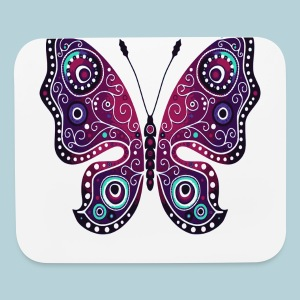 Tribal Butterfly - Mouse pad Horizontal