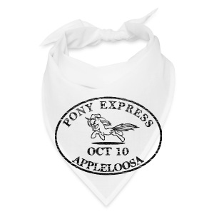 Pony Express, distressed - Bandana