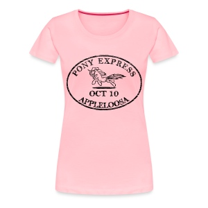 Pony Express, distressed - Women's Premium T-Shirt