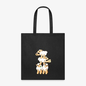 Sheeps celebrating Patrick's Day - Tote Bag