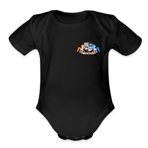 /r/mylittlepony small - Short Sleeve Baby Bodysuit