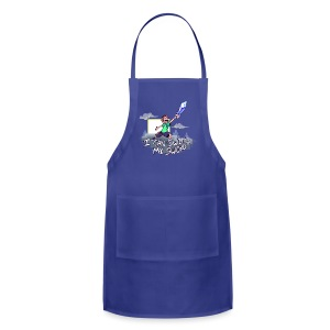 I Can Swing My Sword (Minecraft Diamond Sword Song) - Adjustable Apron