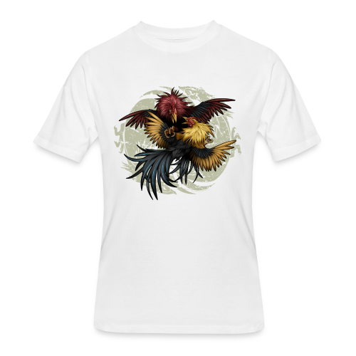C-1203 Ying Yang Gallos - Men's 50/50 T-Shirt
