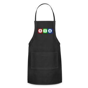 Fly, Eat, Tech - RGB - Adjustable Apron