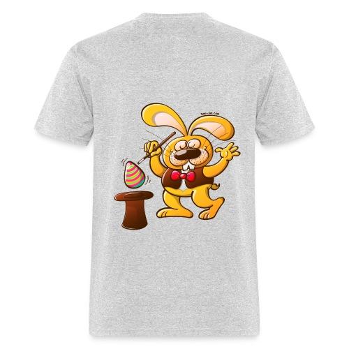 Magician Easter Bunny - Men's T-Shirt