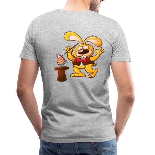 Magician Easter Bunny - Men's Premium T-Shirt