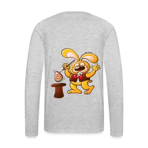 Magician Easter Bunny - Men's Premium Long Sleeve T-Shirt