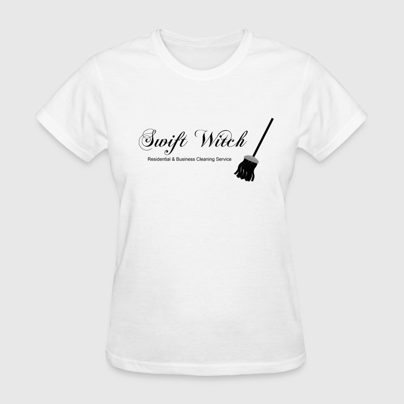 swift witch cleaning service pagan wiccan witchcra - Women's T-Shirt