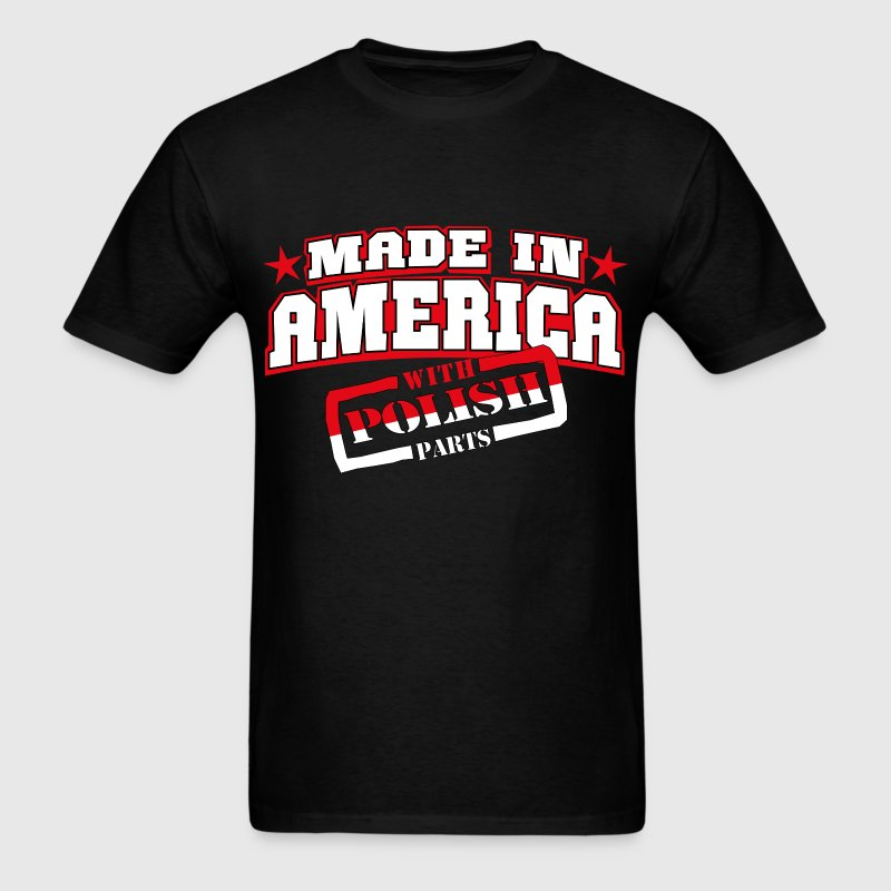 MADE IN AMERICA - Polish PARTS - Men's T-Shirt