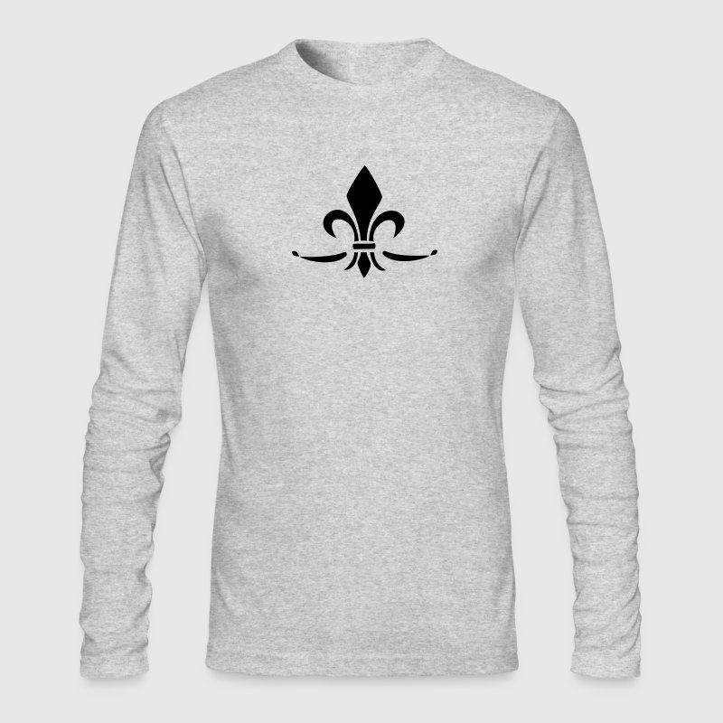 Lily Flower, trinity symbol Charity, Hope, Faith 3 Long Sleeve Shirts - Men's Long Sleeve T-Shirt by Next Level