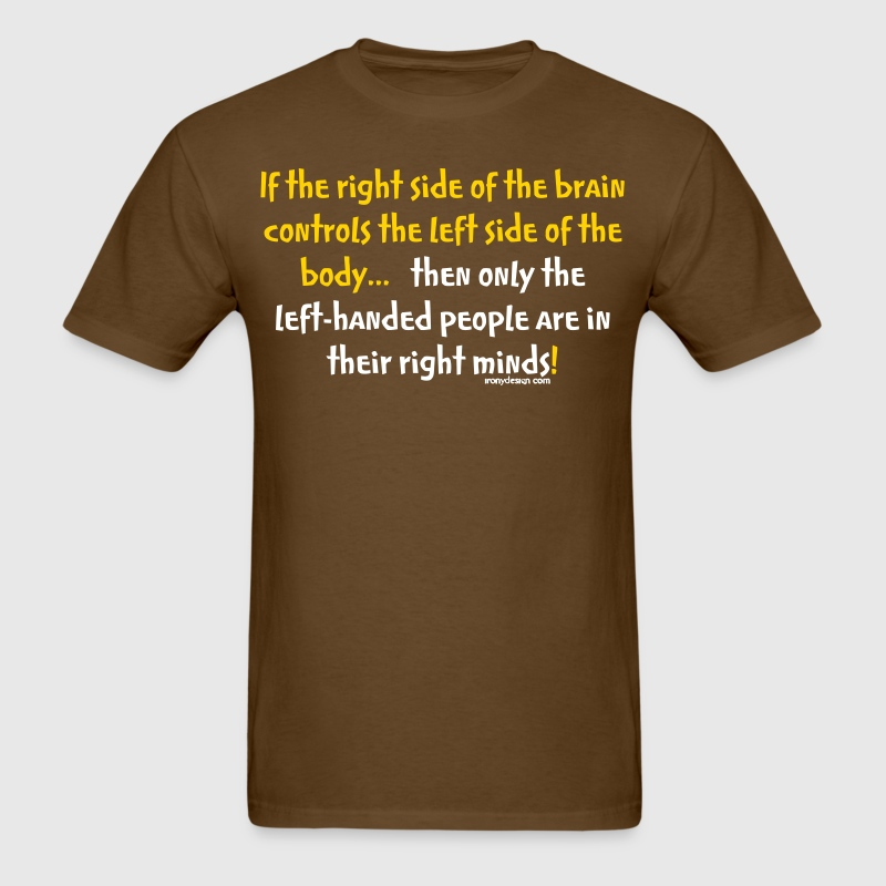 Left-handed people - Men's T-Shirt