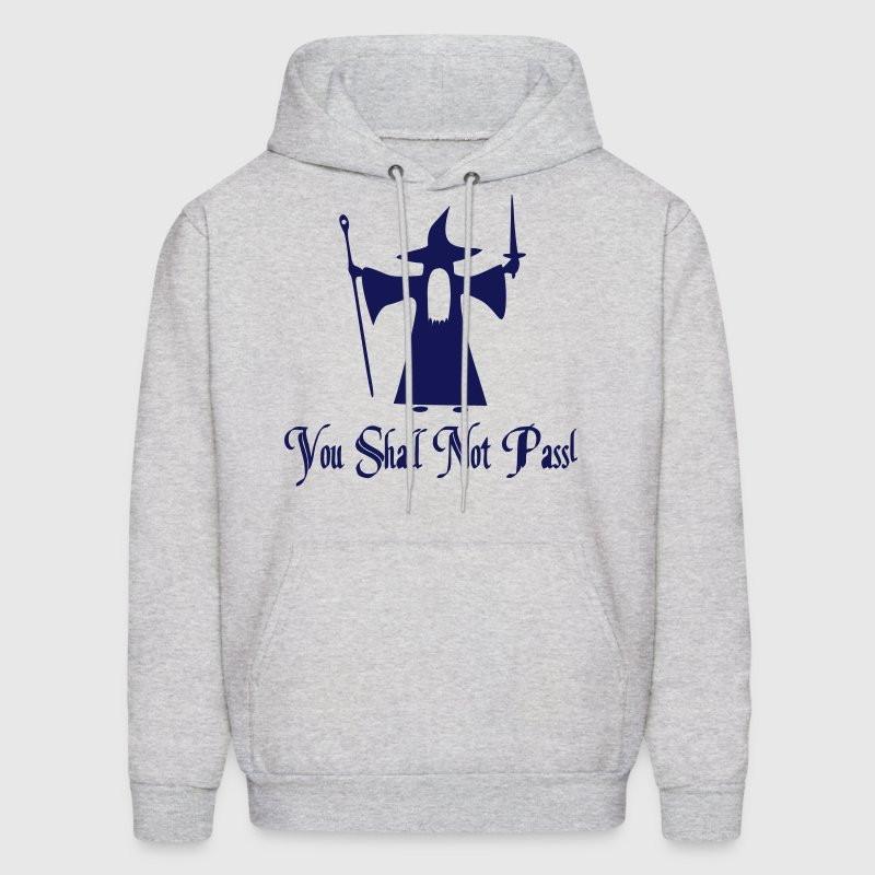 You Shall Not Pass Vector Hoodies - Men's Hoodie