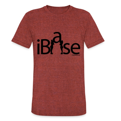 IBASE CHEERLEADING T SHIRT - Unisex Tri-Blend T-Shirt