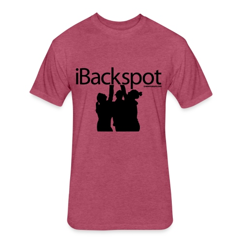 IBACKSPOT CHEERLEADING T SHIRT - Fitted Cotton/Poly T-Shirt by Next Level