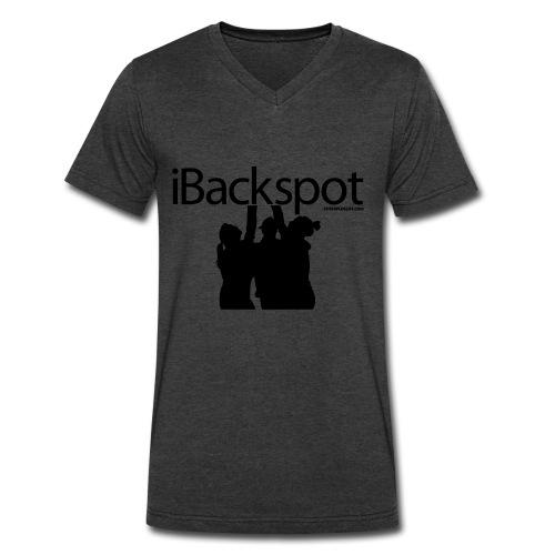IBACKSPOT CHEERLEADING T SHIRT - Men's V-Neck T-Shirt by Canvas