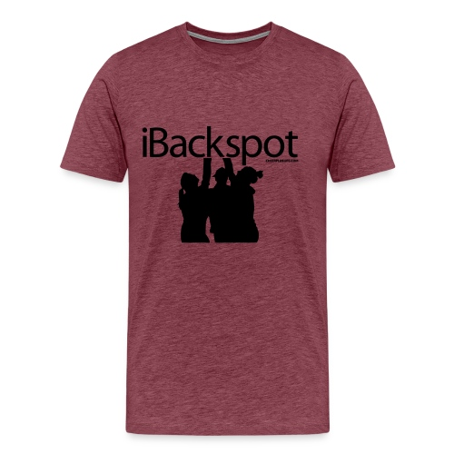 IBACKSPOT CHEERLEADING T SHIRT - Men's Premium T-Shirt