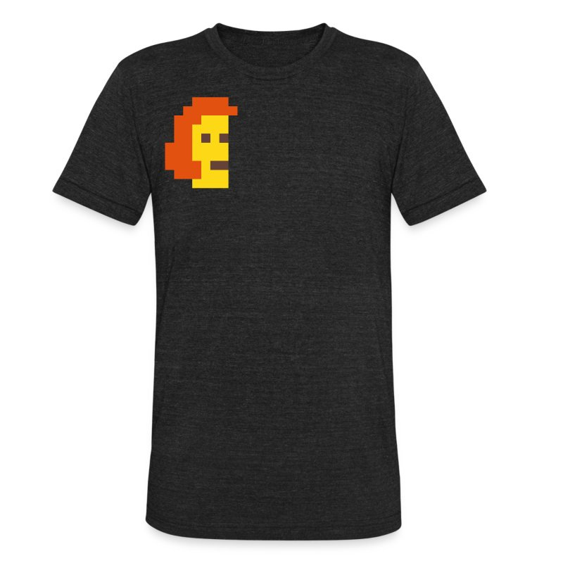 McPixel Deluxe T-shirt - Unisex Tri-Blend T-Shirt by American Apparel