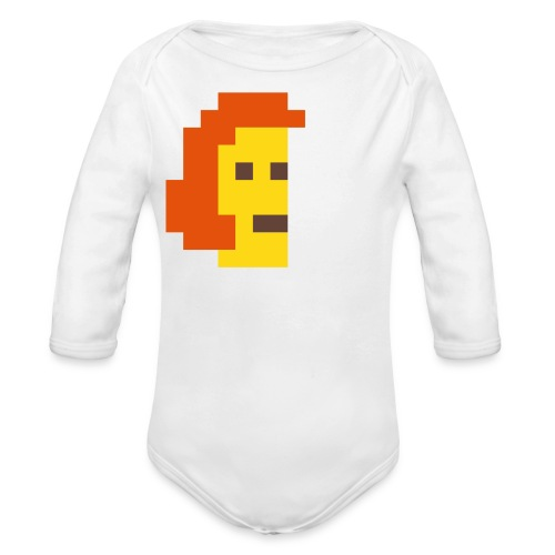 McPixel Baby Thingie - Long Sleeve Baby Bodysuit