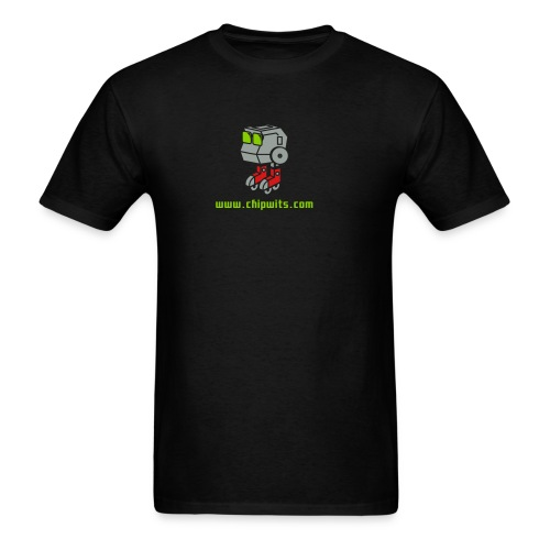 Lightweight cotton T-Shirt - Chipwit (black) - Men's T-Shirt