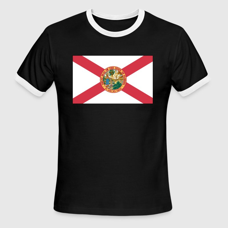 great seal of the state of florida t shirt - Men's Ringer T-Shirt