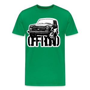 Lada Niva off-road - Men's Premium T-Shirt