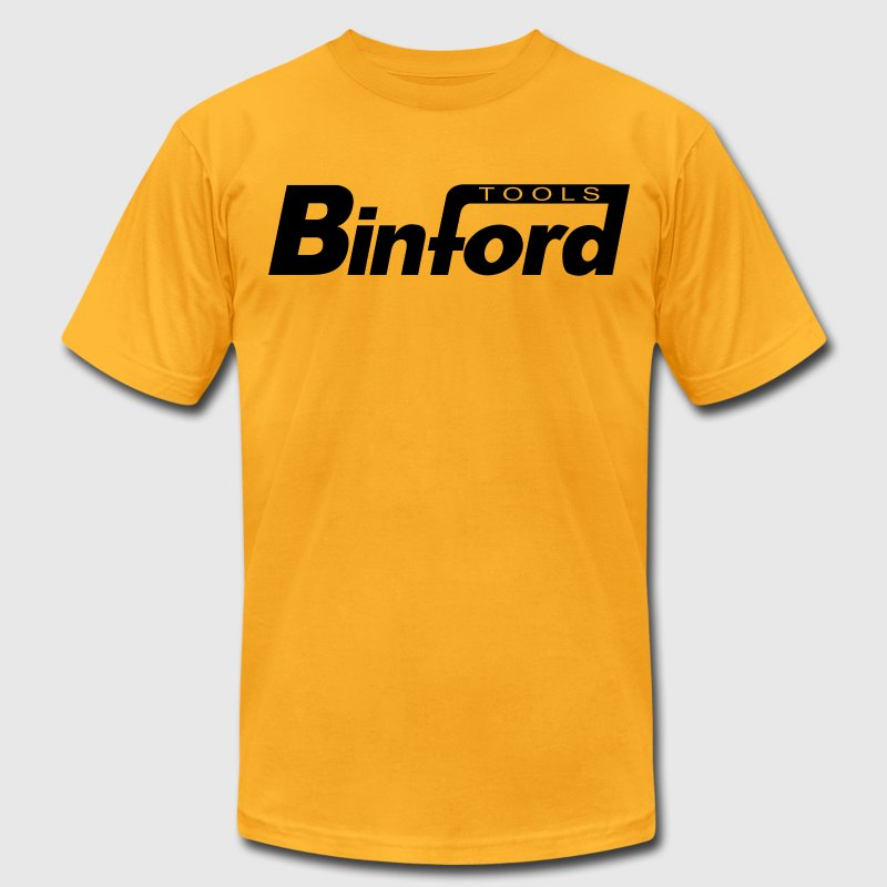 Binford Tools (home improvement) (black) T-Shirts - Men's T-Shirt by American Apparel