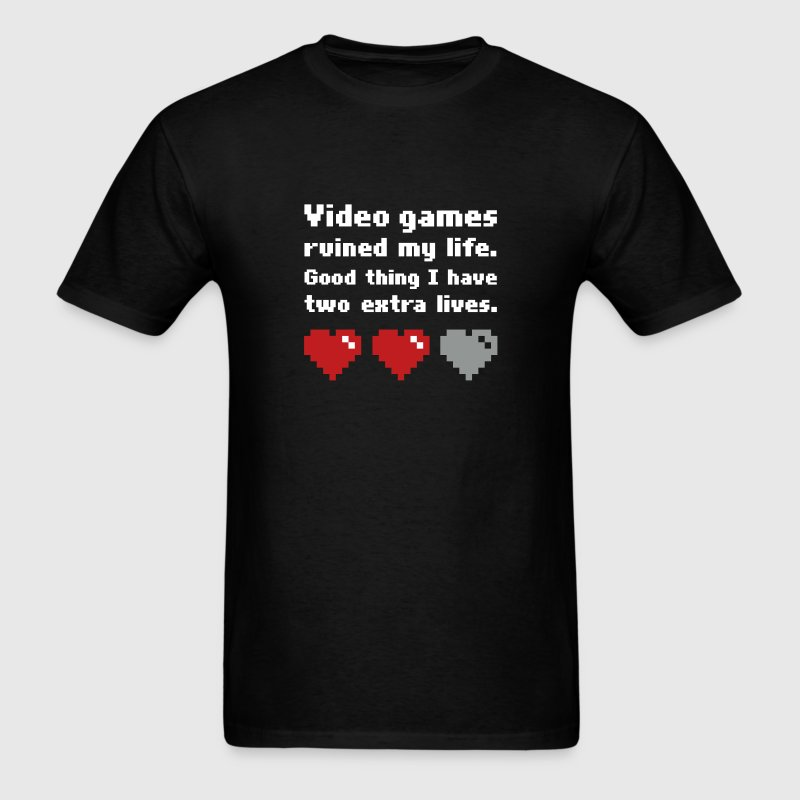 Gamer Lives 3-Color T-Shirts - Men's T-Shirt