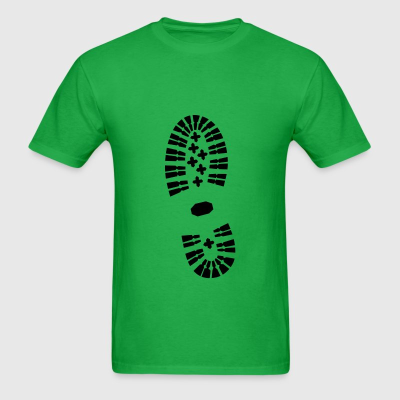 Shoe Print, Shoe, Boot Print T-Shirts - Men's T-Shirt