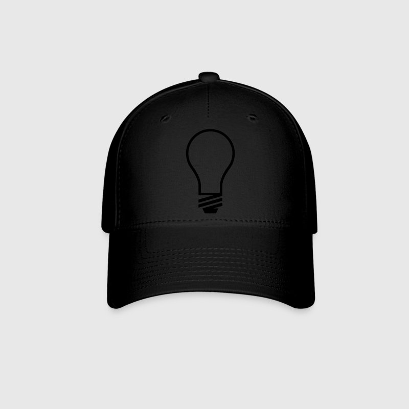 Light Bulb VECTOR Caps - Baseball Cap
