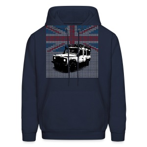 Union Jack Land Rover Defender - Men's Hoodie