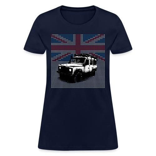 Union Jack Land Rover Defender - Women's T-Shirt