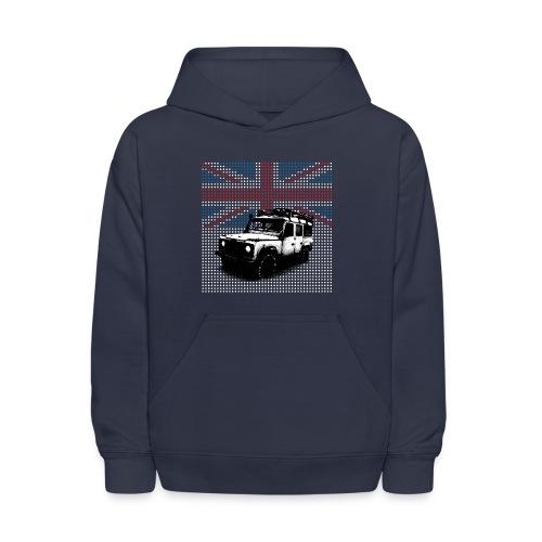 Union Jack Land Rover Defender - Kids' Hoodie