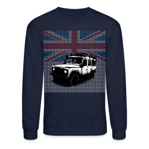 Union Jack Land Rover Defender - Crewneck Sweatshirt
