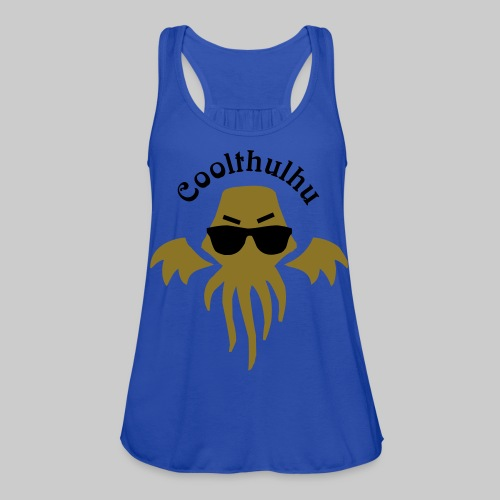 WTS2c: Coolthulhu - Women's Flowy Tank Top by Bella
