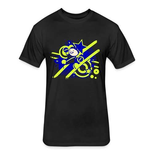 Charles the Raver Celebration WOMENS - Fitted Cotton/Poly T-Shirt by Next Level