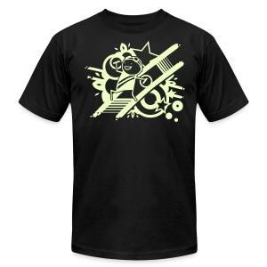 Charles Celebration SILVER GLITTER HOODIE - Men's Fine Jersey T-Shirt