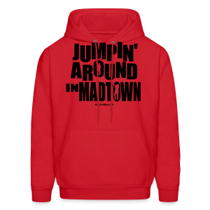 Jumpin' Around in MadTown! - Men's Hoodie