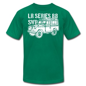 Land Rover Series 88 SWB - Men's Fine Jersey T-Shirt