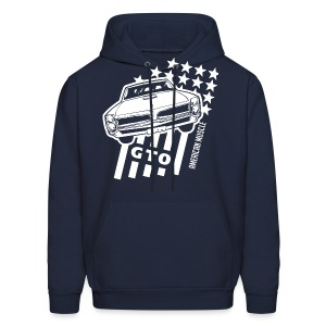 Pontiac GTO Stars & Stripes - Men's Hoodie